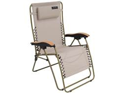 ALPS Mountaineering Lay-Z Lounger Camp Chair Steel and Polyester Tan