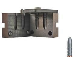 RCBS 2-Cavity Bullet Mold 257-120-SP 25 Caliber (258 Diameter) 120 Grain Semi-Point Gas Check