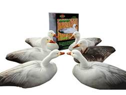 Cherokee Sports Fusion Snow and Blue Goose Decoy Combo Pack of 6