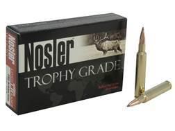 Nosler Trophy Grade Ammunition 280 Ackley Improved 150 Grain AccuBond Long Range Box of 20