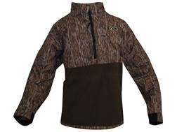Drake Men's MST Eqwader Plus 1/4 Zip Waterproof Wader Jacket Long Sleeve Polyester