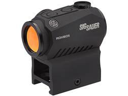 Sig Sauer ROMEO5 Compact Red Dot Sight 1x 20mm 1/2 MOA Adjustments 2 MOA Dot Reticle Picatinny-St...