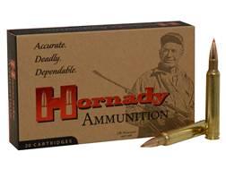 Hornady Custom Ammunition 300 Weatherby Magnum 180 Grain GMX Boat Tail Lead-Free Box of 20