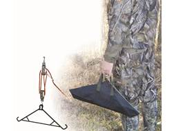 HME Game Hanging 4:1 Ratio Game Hoist System with Gambrel Steel Black