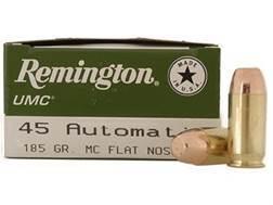 Remington UMC Ammunition 45 ACP 185 Grain Full Metal Jacket