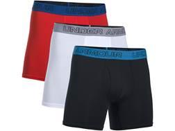 """Under Armour Men's UA Cotton Stretch 6"""" Boxer Briefs Charged Cotton"""
