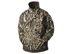 Drake Men's MST Waterfowl Fleece Lined Pullover 2.0 Jacket Waterproof Polyester Realtree Max-5 Ca...