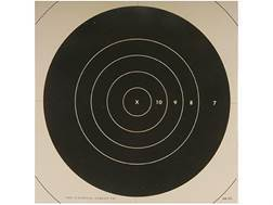 NRA Official High Power Rifle Targets Repair Center MR-52C 200 Yard Slow Fire Paper Pack of 100
