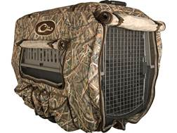 Drake Deluxe Adjustable Insulated Dog Kennel Cover Polyester Mossy Oak Shadow Grass Blades Camo