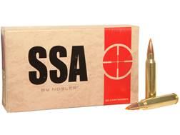 Silver State Armory Ammunition 5.56x45mm NATO 55 Grain Nosler Ballistic Tip Box of 20