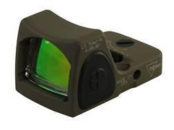 Trijicon RMR Reflex Red Dot Sight Adjustable LED 6.50 MOA Red Dot Cerakote Flat Dark Earth