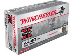Winchester Super-X Ammunition 44-40 WCF 200 Grain Soft Point Box of 50
