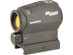 Sig Sauer ROMEO5 X Compact Red Dot Sight 1x 20mm 1/2 MOA Adjustments 2 MOA Dot Reticle Picatinny-...