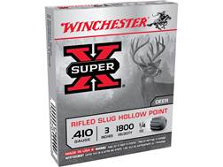 "Winchester Super-X Ammunition 410 Bore 3"" 1/4 oz Rifled Slug"