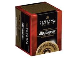 "Federal Premium Personal Defense Ammunition 410 Bore 2-1/2"" 000 Buckshot 4 Pellets"