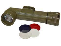 Military Surplus Angled Flashlight Grade 1 Olive Drab