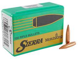 Sierra MatchKing Bullets 264 Caliber, 6.5mm (264 Diameter) 142 Grain Hollow Point Boat Tail