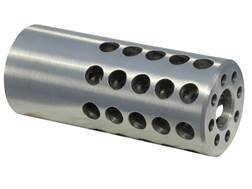 "Vais Muzzle Brake Micro 270 Caliber 1/2""-32 Thread .750"" Outside Diameter x 1.750"" Length Steel"