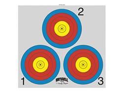 Morrell Paper Archery Target 3 Spot Pack of 100- Blemished