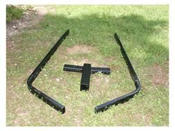 Viking Solutions Rack-Jack Game Hoist Ground Stand Steel Black