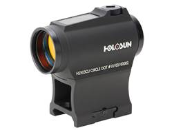 Holosun HS503CU Paralow Red Dot Sight 1x 20mm 65 MOA Circle with 2 MOA Dot Weaver- Style Low and ...