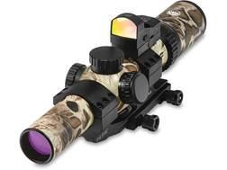 Burris MTAC Rifle Scope 30mm Tube 1-4x 24mm Illuminated Ballistic AR Reticle Sand with FastFire I...