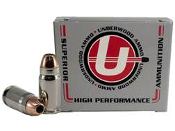 Underwood Ammunition 40 Super 200 Grain Hornady XTP Jacketed Hollow Point Box of 20