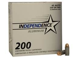 Independence Ammunition 45 ACP 230 Grain Full Metal Jacket