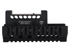 Midwest Industries US Palm 2-Piece Quad Rail Handguard AK-47, AK-74 with Trijicon RMR Top Cover O...