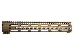 Midwest Industries K-Series Free Float KeyMod Handguard AR-15 Rifle Length Aluminum Flat Dark Earth