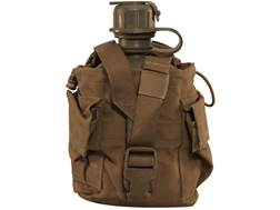 Military Surplus 1 Quart Canteen with MOLLE II Carrier