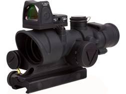 Trijicon ACOG Rifle Scope 4x 32mm LED Illuminated Red Crosshair 223 Remington Reticle with 3.25 M...