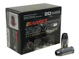 Barnes TAC-XPD Ammunition 40 S&W 140 Grain TAC-XP Hollow Point Lead-Free Box of 20