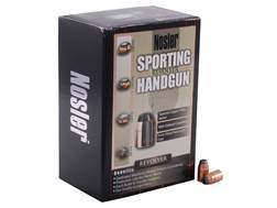 Nosler Sporting Handgun Bullets 38 Caliber (357 Diameter) 158 Grain Jacketed Hollow Point Box of 250