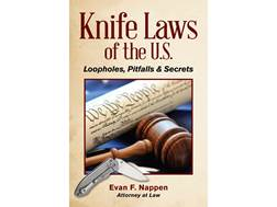 """Knife Laws of the U.S."" Book by Evan F. Nappen"