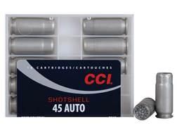 CCI Shotshell Ammunition 45 ACP 120 Grains #9 Shot Box of 10