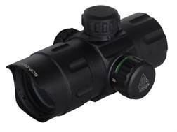 Leapers UTG Red Dot Sight 38mm Tube 1x 4 MOA Red and Green Dot with Low and Medium Quick Detachab...