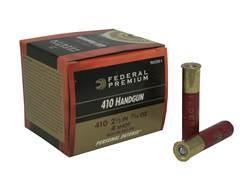 "Federal Premium Personal Defense Ammunition 410 Bore 2-1/2"" 7/16 oz #4 Shot Box of 20"