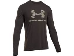 Under Armour Men's UA Camo Fill Logo T-Shirt Long Sleeve Poly/Cotton Blend