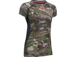 Under Armour Women's UA Scent Control Shirt Short Sleeve Polyester