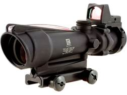 Trijicon ACOG Rifle Scope 3.5x 35mm Dual-Illuminated Red Crosshair 223 Remington Reticle with 3.2...