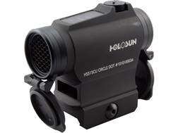 Holosun HS515CU Paralow Red Dot Sight 1x Selectable Reticle Weaver-Style Quick-Release Lower 1/3 ...