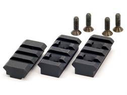 Atlas Bipod 1913 Three Rail Set for the BT19 Adaptor Steel Black
