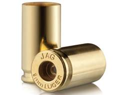 Jagemann Reloading Brass 9mm Luger Bag of 100