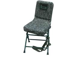 Banded Swivel Blind Chair 600D Fabric Mossy Oak Bottomland Tall