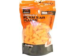 Walker's Soft Foam Ear Plugs (NRR 31 dB) Bag of 50 Pairs Orange