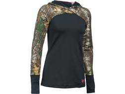 Under Armour Women's UA Tevo ColdGear Infrared Scent Control Base Layer Hoodie Polyester Realtree...