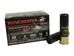"Winchester Rooster XR Pheasant Ammunition 12 Gauge 3"" 1-1/2 oz #5 Shot-Lok Copper Plated Shot"