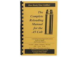 "Loadbooks USA ""45 Colt"" Reloading Manual"