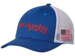 Columbia PFG Mesh Flexfit Fitted Ball Cap Cotton